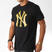 /achat-t-shirts/47-brand-tee-shirt-new-york-yankees-408753-noir-dore-152240.html