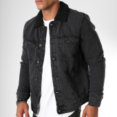 /achat-vestes-jean/only-and-sons-veste-jean-col-mouton-louis-noir-152176.html