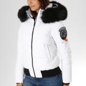 /achat-doudounes/superdry-doudoune-femme-fourrure-everest-ella-g50003er-blanc-noir-152197.html
