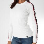 /achat-pulls/superdry-pull-femme-avec-bandes-urban-street-logo-blanc-152209.html