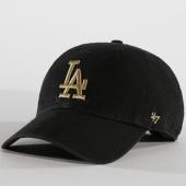 /achat-casquettes-de-baseball/47-brand-casquette-clean-up-los-angeles-dodgers-mtclu12gws-noir-dore-152281.html