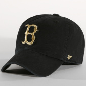 /achat-casquettes-de-baseball/47-brand-casquette-clean-up-boston-redsox-mtclu02gws-noir-dore-152296.html