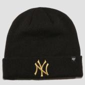 /achat-bonnets/47-brand-bonnet-new-york-yankees-face-noir-dore-152319.html