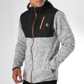 /achat-vestes/jack-and-jones-veste-zippee-capuche-wago-gris-chine-noir-152318.html
