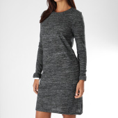 /achat-robes/only-robe-manches-longues-femme-billa-gris-anthracite-chine-152399.html