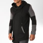 /achat-vestes/uniplay-veste-zippee-capuche-oversize-uy262-noir-gris-152459.html