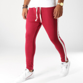 /achat-pantalons-carreaux/uniplay-pantalon-avec-bandes-t3261-bordeaux-ecru-152472.html