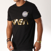 /achat-t-shirts/alpha-industries-tee-shirt-nasa-reflective-noir-dore-152578.html