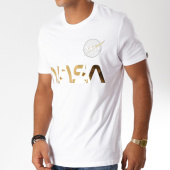 /achat-t-shirts/alpha-industries-tee-shirt-nasa-reflective-blanc-dore-152583.html