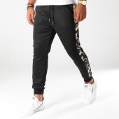 /achat-pantalons-joggings/frilivin-pantalon-jogging-avec-bandes-1399-noir-floral-152699.html