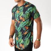 /achat-t-shirts-longs-oversize/frilivin-tee-shirt-oversize-5717c-noir-floral-152710.html