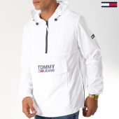 /achat-coupe-vent/tommy-hilfiger-jeans-coupe-vent-pop-over-5346-blanc-152713.html