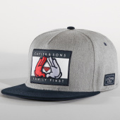 /achat-snapbacks/cayler-and-sons-casquette-snapback-first-gris-chine-bleu-marine-152906.html