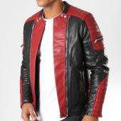/achat-vestes-biker/frilivin-veste-biker-qq513-noir-rouge-152920.html