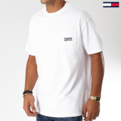 /achat-t-shirts-poche/tommy-hilfiger-jeans-tee-shirt-poche-logo-5084-blanc-152789.html