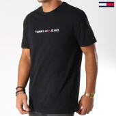 /achat-t-shirts/tommy-hilfiger-jeans-tee-shirt-small-text-5125-noir-152806.html