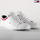 /achat-baskets-basses/tommy-hilfiger-baskets-essential-leather-mix-1632-100-white-152827.html