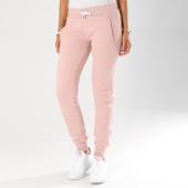 Superdry - Pantalon Jogging Femme Orange Label Elite Rose Pale 445b87c8f87