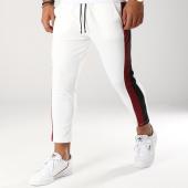 /achat-pantalons-carreaux/frilivin-pantalon-avec-bandes-1377-blanc-bordeaux-153076.html