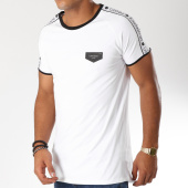 /achat-t-shirts-longs-oversize/gianni-kavanagh-tee-shirt-oversize-avec-bandes-gk-ribbon-blanc-noir-153078.html
