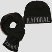 /achat-echarpes-foulards/kaporal-lot-echarpe-bonnet-back-noir-153121.html