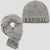 /achat-echarpes-foulards/kaporal-lot-echarpe-bonnet-back-gris-chine-153129.html