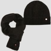 /achat-echarpes-foulards/kaporal-lot-echarpe-bonnet-femme-tiger-noir-153140.html