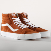 /achat-baskets-montantes/vans-baskets-sk8-hi-reissue-a2xsbu5k1-leather-brown-153167.html