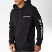 /achat-sweats-capuche/calvin-klein-sweat-capuche-institutional-chest-logo-9795-noir-blanc-153285.html