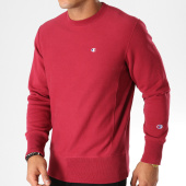 /achat-sweats-col-rond-crewneck/champion-sweat-crewneck-212572-bordeaux-153386.html