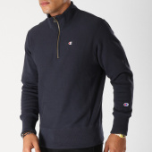 /achat-sweats-col-zippe/champion-sweat-212369-bleu-marine-153390.html
