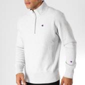 /achat-sweats-col-zippe/champion-sweat-212369-gris-chine-153391.html