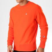 /achat-sweats-col-rond-crewneck/champion-sweat-crewneck-212572-orange-153394.html