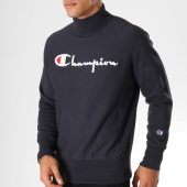 /achat-sweats-col-rond-crewneck/champion-sweat-212990-bleu-marine-153398.html