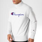 /achat-sweats-col-rond-crewneck/champion-sweat-212990-gris-chine-153399.html