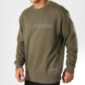 /achat-sweats-col-rond-crewneck/columbia-sweat-crewneck-bugasweat-vert-kaki-153292.html