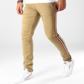 /achat-chinos/paname-brothers-pantalon-chino-bandes-brodees-lawson-beige-153191.html