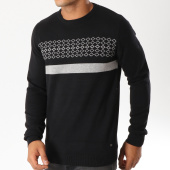 /achat-pulls/the-fresh-brand-pull-whpf091-noir-gris-chine-153343.html