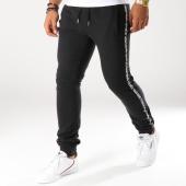 /achat-pantalons-joggings/the-fresh-brand-pantalon-jogging-avec-bandes-whjf091-noir-blanc-153348.html