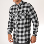 /achat-chemises-manches-longues/tokyo-laundry-chemise-manches-longues-a-carreaux-peres-gris-noir-153212.html