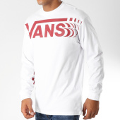 /achat-t-shirts-manches-longues/vans-tee-shirt-manches-longues-distorted-3hw-blanc-bordeaux-153232.html