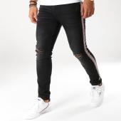 /achat-jeans/aarhon-jean-slim-bandes-brodees-a107-noir-153484.html