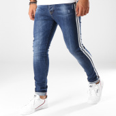 /achat-jeans/aarhon-jean-slim-bandes-brodees-a93-bleu-denim-153488.html