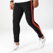 /achat-jeans/classic-series-jean-slim-bandes-brodees-5057-noir-rouge-153450.html