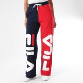 /achat-pantalons-joggings/fila-pantalon-jogging-femme-barbara-684246-bleu-marine-rouge-blanc-153516.html