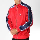 /achat-vestes/fila-veste-zippee-avec-bandes-bentley-684399-rouge-153542.html