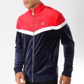 /achat-vestes/fila-veste-zippee-velours-harry-684403-bleu-marine-blanc-rouge-153547.html
