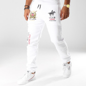 /achat-pantalons-joggings/geographical-norway-pantalon-jogging-patchs-brodes-musain-blanc-153581.html