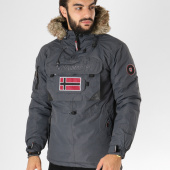 /achat-vestes/geographical-norway-veste-outdoor-poche-bomber-fourrure-beco-gris-anthracite-153610.html
