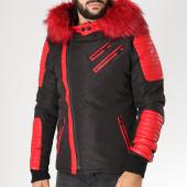 /achat-blousons/john-h-blouson-fourrure-8006a-noir-rouge-153623.html
